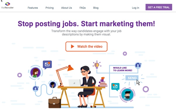 Visual Job Listings Onvizirecruiter  Recruiting Headlines