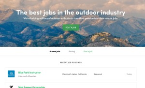 the outdoors job board