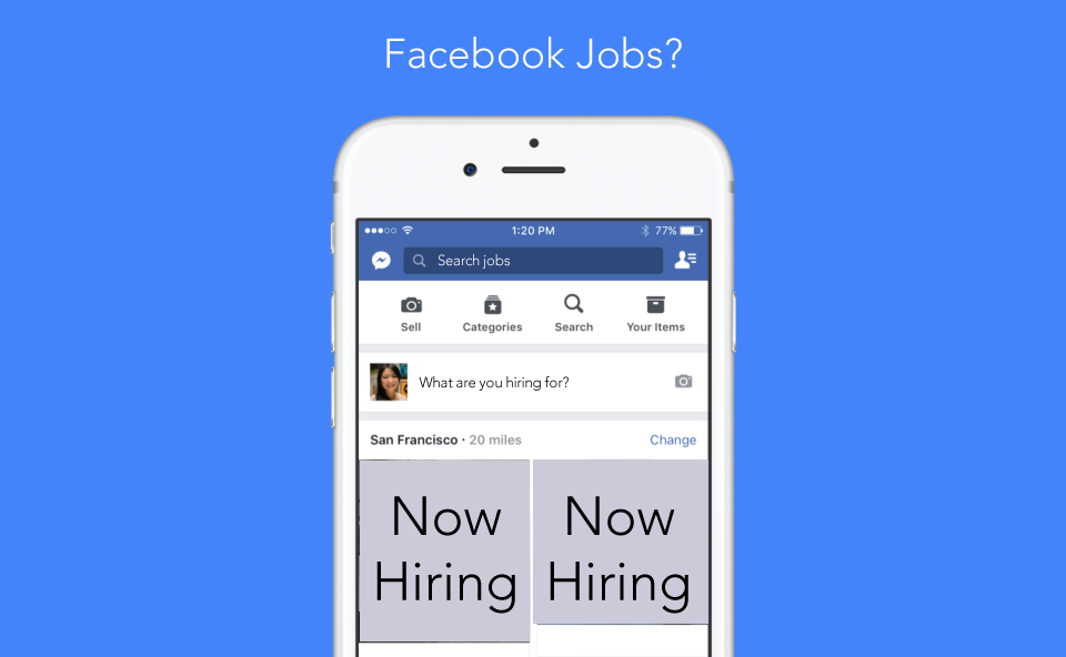 facebook launches marketplace app could a job app be far away recruiting headlines. Black Bedroom Furniture Sets. Home Design Ideas