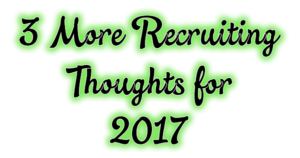 recruiting ideas for 2017