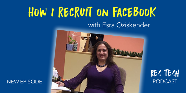 how i recruit on facebook by esra oziskender