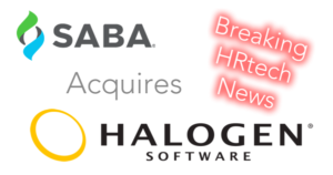 saba software acquires halogen
