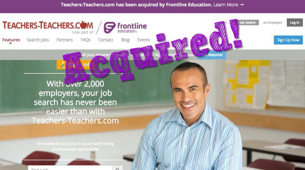Teaching Job Board Acquired by Software Firm | Recruiting Headlines