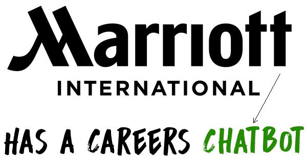 marriott careers chatbot