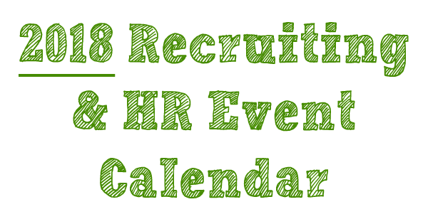 recruiting and hr events for 2018