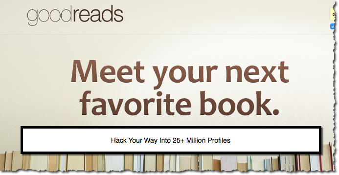 sourcing on goodreads