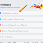 Quick Tip: Show Facebook Users How to Prioritize Your Page Content
