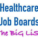 List of Healthcare Job Boards