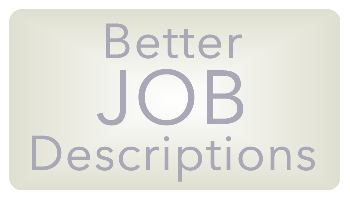 better job descriptions