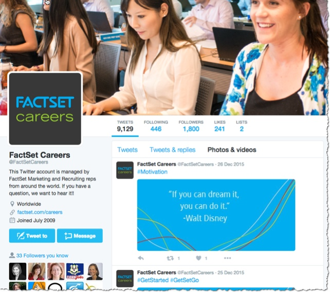 factset careers on twitter