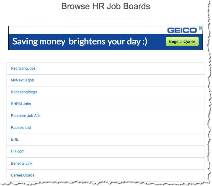 hr job boards
