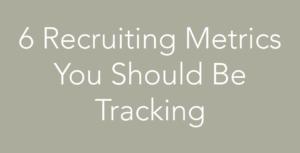 recruiting metrics