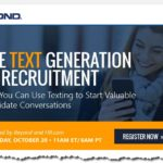 Text Is the New Email. Are You Using it for Recruitment Yet?