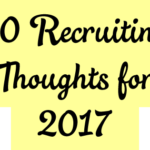 20 Recruiting Pros Share Their Plans for 2017