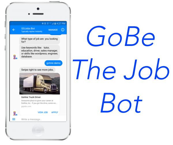 GoBe job bot