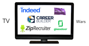 job board tv commercials