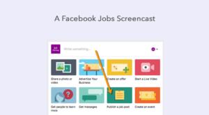 facebook job posting