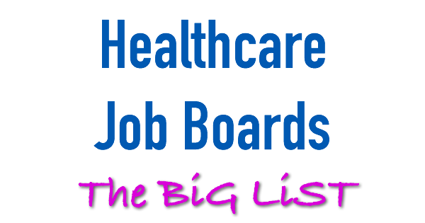 healthcare job boards