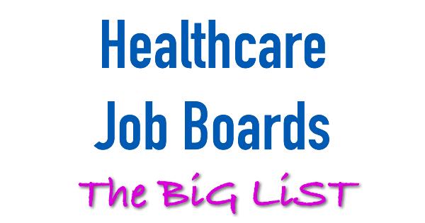 healthcare job boards