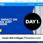 Career Site Critique: PGcareers.com
