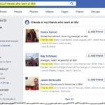 Friends of Friends Facebook Sourcing Hack