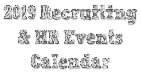2019 recruiting and hr events