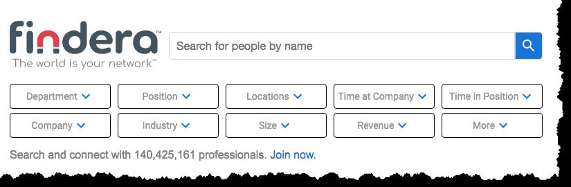 findera search engine