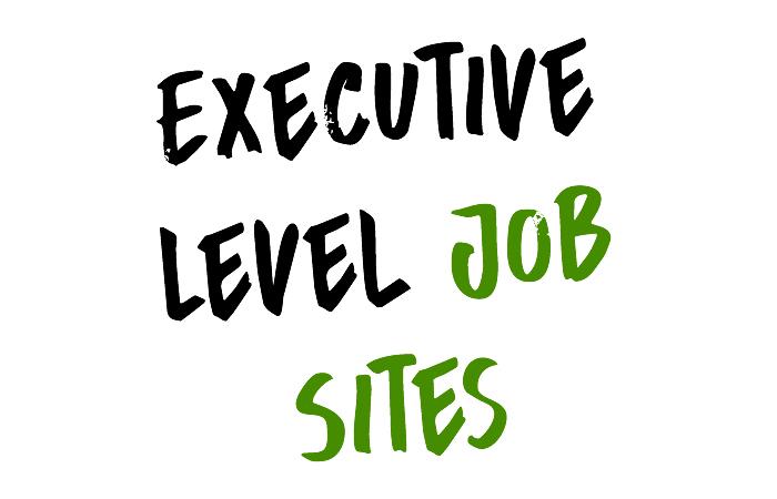 executive job sites