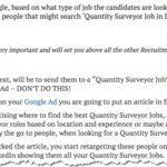 Using Google Ads to Target Candidates