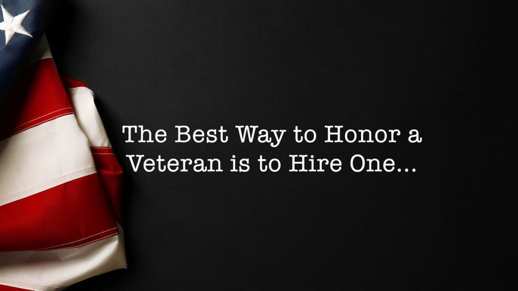 National Hire A Veteran Day Set For July 25th Recruiting