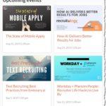 Upcoming RecTech Webinars