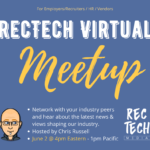 RecTech Virtual Networking Meetup June 2nd