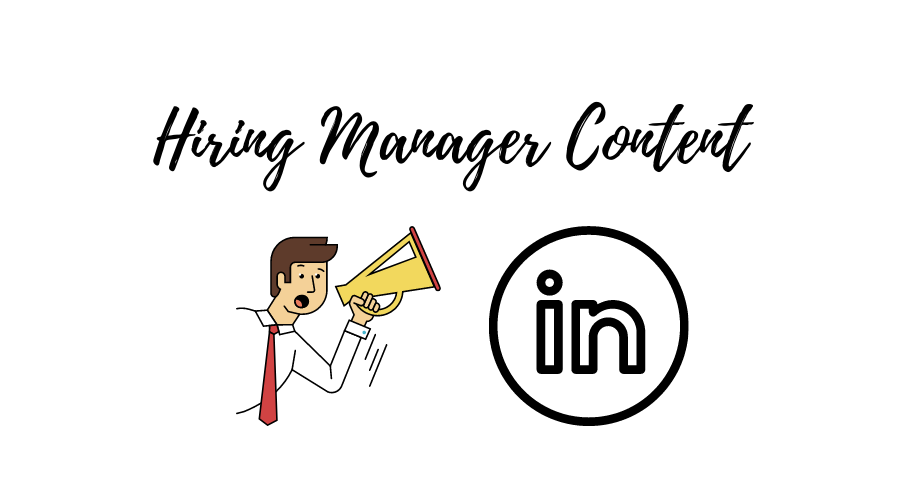 hiring manager content