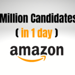 Amazon: We Just Got 1 Million Job Applications (in 1 day)